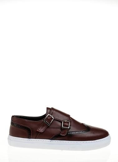 Derigo Tokalı Ayakkabı Bordo